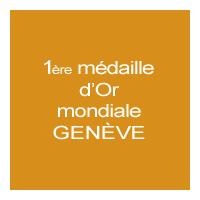 1ère médaille d'or mondiale Genève