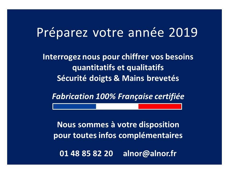 Préparez votre année 2019