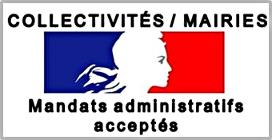 Mandats administratifs acceptés